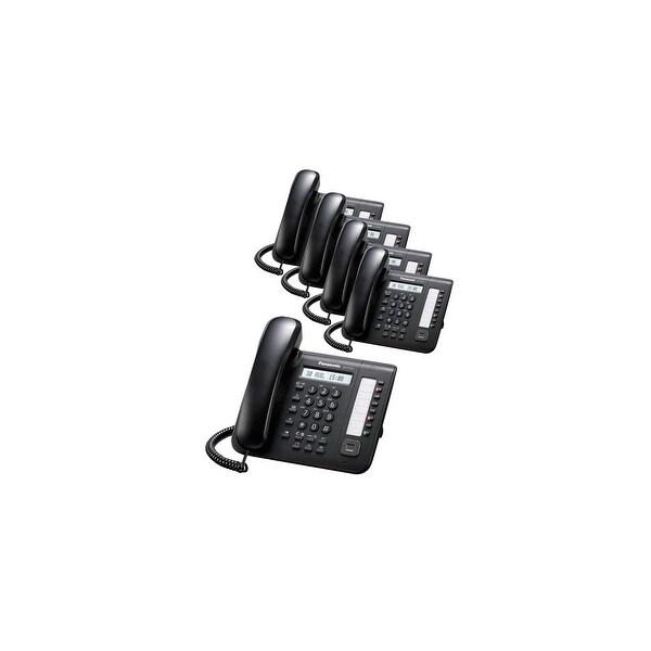 Panasonic KX-DT521 (5-Pack) 8 Button 1-line Digital Telephone