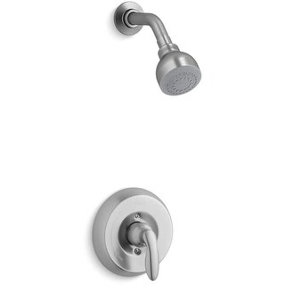 Kohler K-TS15611-4H Coralais Single Handle Shower Valve Trim Only with Metal Lever Handle and 1.5 GPM Single Function Shower