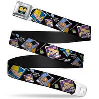 Arnold Pose Full Color Black Hey Arnold Class Pix Quotes Arnold Gerald Seatbelt Belt