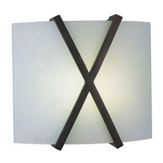 AFX RES1211213QMV 2 Light ADA Compliant Bathroom Sconce from the Restoration Collection