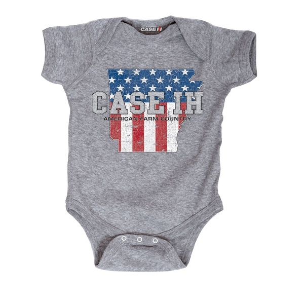 Case Ih Country Patriotic Ar - Case Ih Infant One Piece
