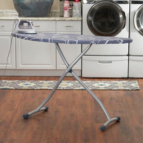 Household Essentials Steel Top Ironing Board, 17.75in x 58.4