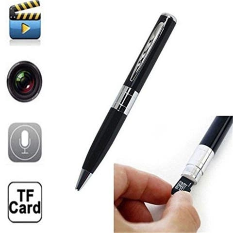HD Spy Rec Pen Sliver Camera Hidden DVR Surveillance Video Cam Camcorder 16G with USB