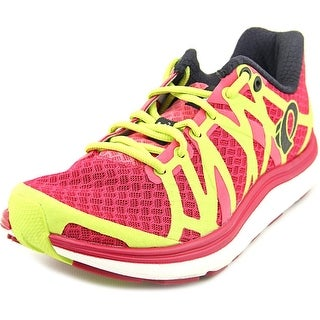 Pearl Izumi Road H3 Women Round Toe Synthetic Pink Running Shoe