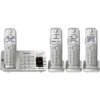 Link2cell Bluetooth Cordless Phone With Answering Machine, Black