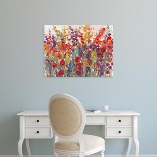 Easy Art Prints Tim OToole's 'Variety of Flowers II' Premium Canvas Art