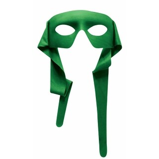 Green Adult Tie Behind Mask