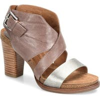 Sofft Womens Christine Leather Open Toe Casual Ankle Strap Sandals