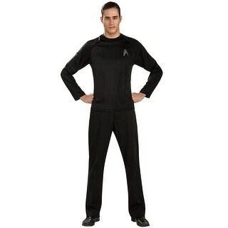 Rubies Star Trek Off Duty Uniform Adult Costume - Black (3 options available)