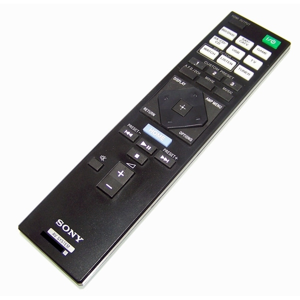 NEW OEM Sony Remote Control Originally Shipped With STRDN1005D, STR-DN1005D