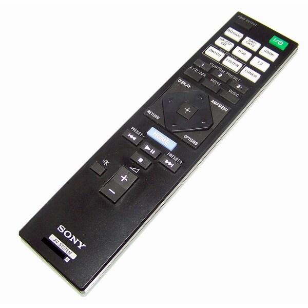 OEM Sony Remote Control Originally Shipped With: STRDN1050, STR-DN1050, STRDN850, STR-DN850