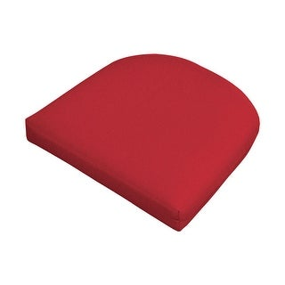 Casual Cushion 373-1427 Wicker Pad, Red