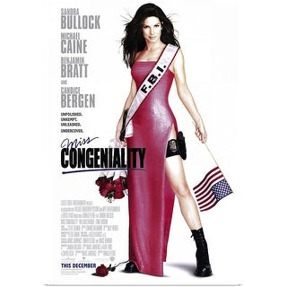Shop Black Friday Deals On Miss Congeniality 2000 Poster Print Overstock 24135804