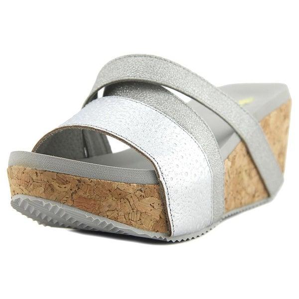 Volatile Junebug Silver Sandals