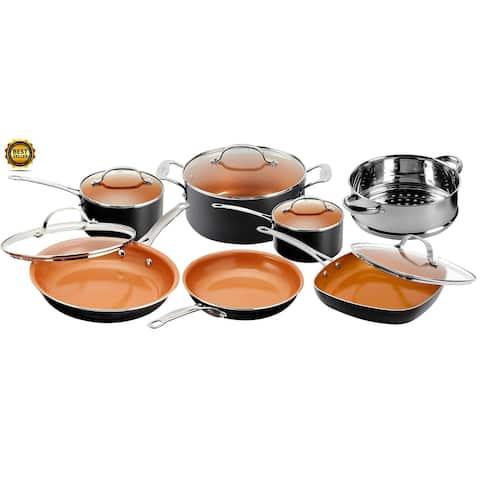 Gotham Steel Non Stick 12pc Cookware Set