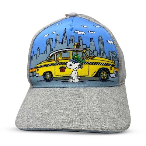 Baseball Hat - Peanuts, Snoopy Taxi