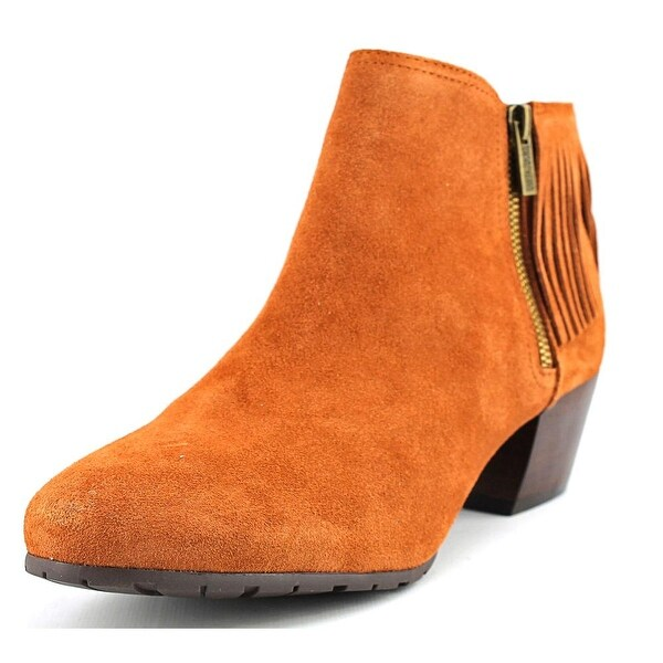 Kenneth Cole Reaction Pil-ates Women Round Toe Suede Bootie