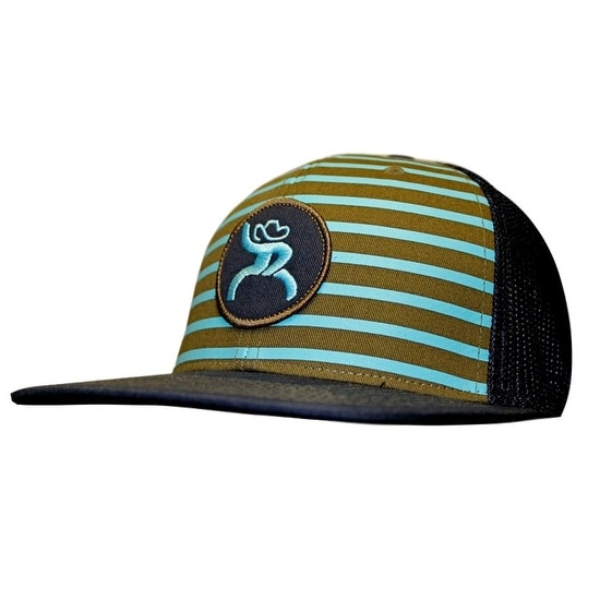 timeless design d519c 5c1a5 Shop HOOey Hat Mens Truck Cap Stripes Chute Rough One Size Black - Free  Shipping On Orders Over  45 - Overstock - 15415792