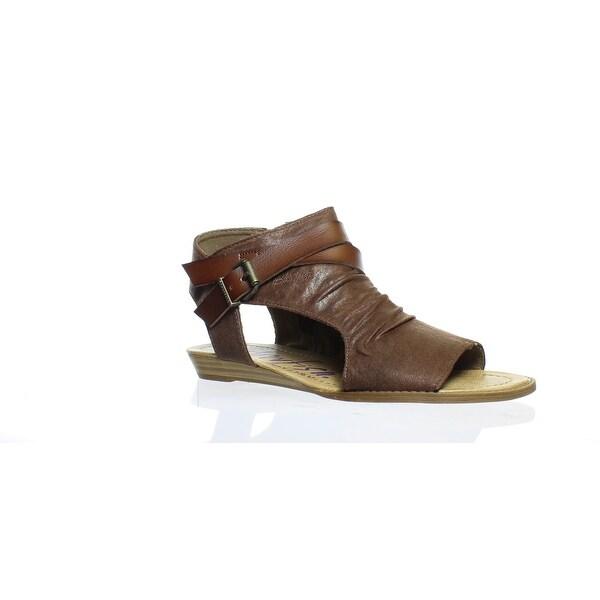 4c5806fb681 Shop Blowfish Womens Balla Brown Ankle Strap Flats Size 8.5 - Free ...