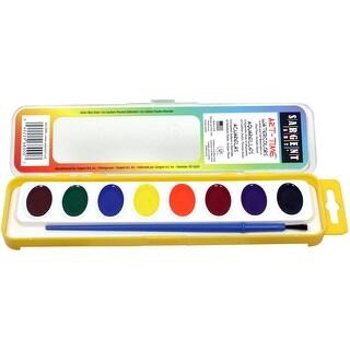Art-Time(R) Watercolor Set 8/Pkg-Assorted Colors