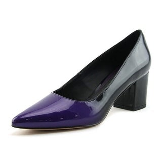 Brian Atwood Kacie Women  Pointed Toe Patent Leather Purple Heels