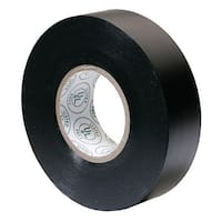 Ancor Premium Electrical Tape 3/4inch x 66feet Black Premium Electrical Tape