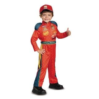 Toddler Lightning Mcqueen Cars Halloween Costume