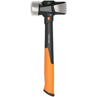 "Fiskars 750810-1001 IsoCore Club Hammer, 14"""