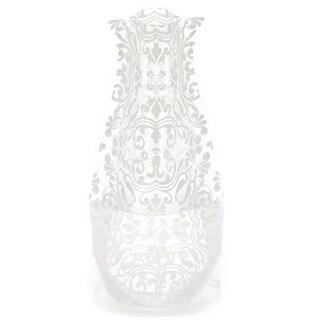 Modgy 66130x2 Myvaz Expandable Flower Vase ChiChi White-Pack of 2