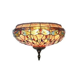 Dale Tiffany TW11160 Dragonfly Wall Sconce with 2 Lights