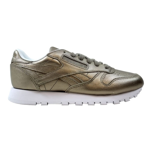 696343294c7 Reebok Classic Leather Melted Metal Pearl Metallic Grey Gold BS7898 ...