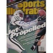 Signed Johnson Keyshawn Sports Illustrated Magazine Cover 11899 Issue autographed