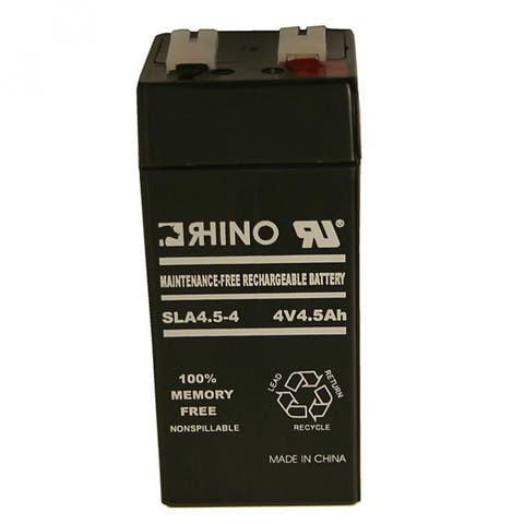 Fi-Shock ASB2/301-569R Rechargeable Battery for Fence Charger, 4 Volt