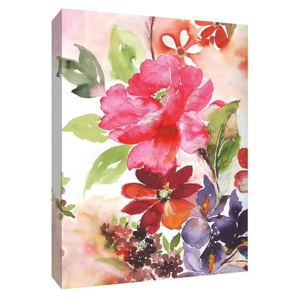 """PTM Images 9-148465 PTM Canvas Collection 10"""" x 8"""" - """"Early Spring III"""" Giclee Flowers Art Print on Canvas"""