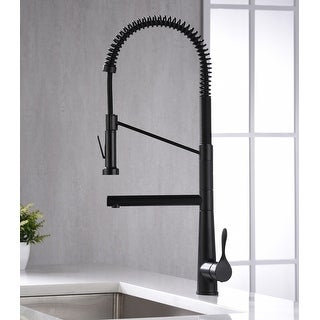 Link to Karran Tumba Single-Handle Pull-Down Sprayer Kitchen Faucet Similar Items in Faucets