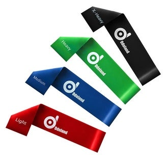 Exercise Resistance Loop Bands Set of 3 Light Medium Heavy Exercise Bands / Assisted Pull Up Bands / Powerlifting Bands