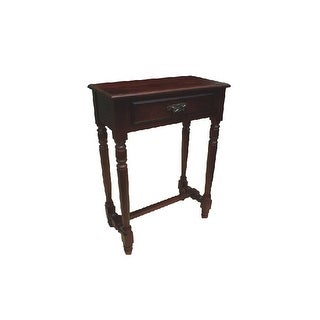 Offex Solid Kiln Dried Mahogany Parker Hall Table 1 Drawer