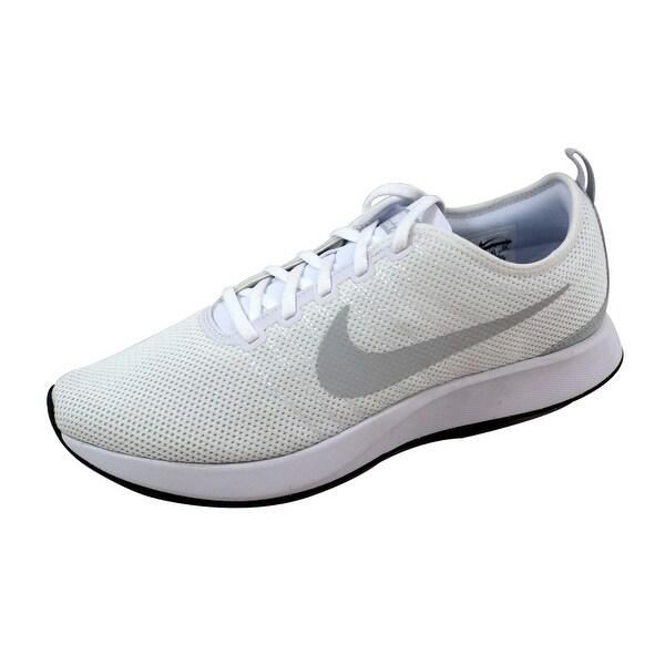 Nike Men's Dualtone Racer White/Pure Platinum 918227-102