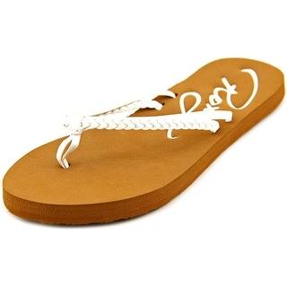 Roxy Cabo Open Toe Synthetic Flip Flop Sandal