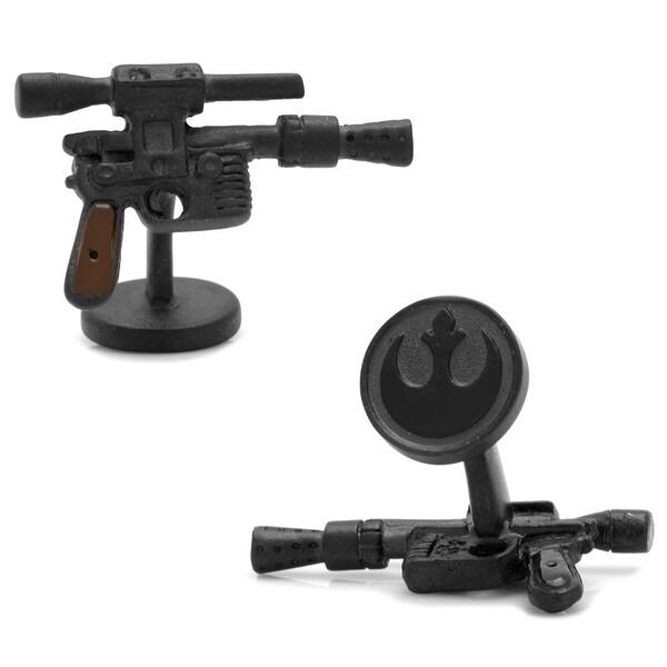 3D Han Solo DL44 Blaster Cufflinks
