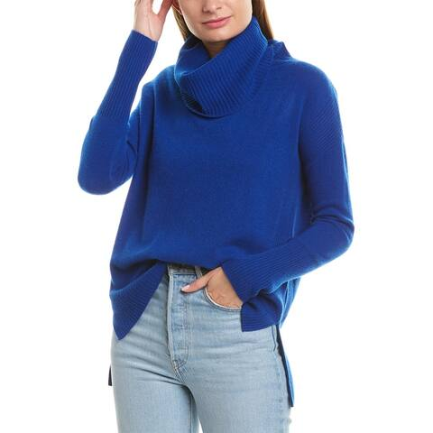 Qi Cowl Cashmere Sweater