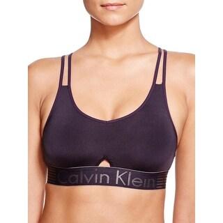 Calvin Klein Womens Bralette Contrast Trim Keyhole (2 options available)