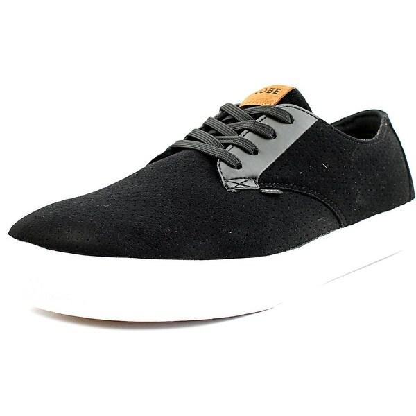 Globe Motley LYT Men Round Toe Canvas Black Sneakers