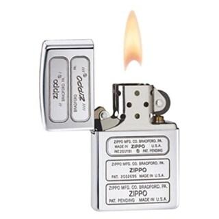 Zippo zippo28381 Bottom Stamp Timeline High Polish Chrome Lighter