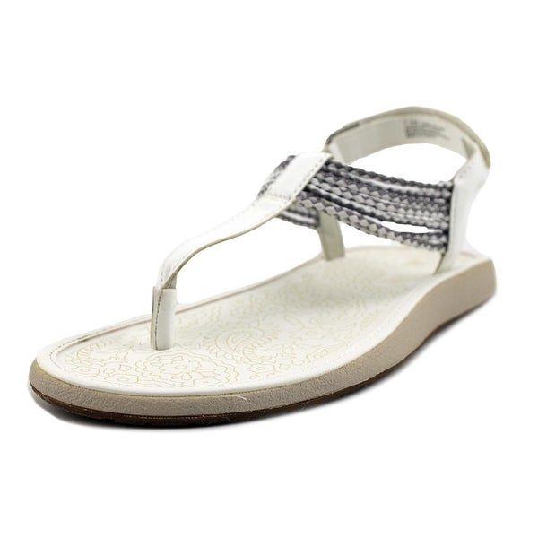 JBU by Jambu Yasmin Women White/Silver Sandals