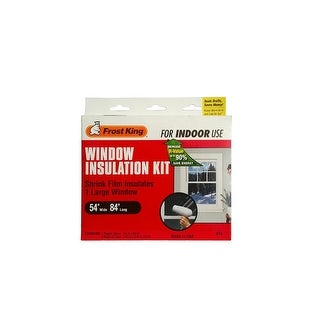 "Frost King V74 Window Insulation Kit, Clear, 54"" x 84"""