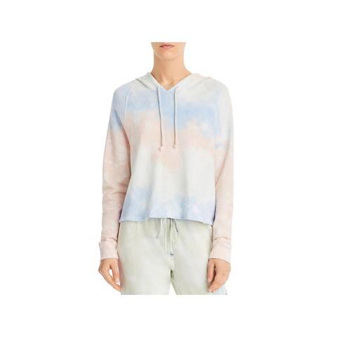 VELVET BY GRAHAM & SPENCER Womens Hoodie Sweatshirt Fitness - Tie Dye