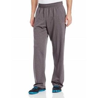 Champion NEW Granite Heat Gray Mens Size Large L Logo Active Pants