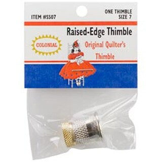 Size 7 - Raised-Edge Thimble
