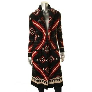 Lauren Ralph Lauren Womens Cardigan Sweater Wool Shawl Collar